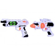 Planet of Toys Space Weapon Set 2 Weapons 24Cms, 26Cms Combo For Kids, Children