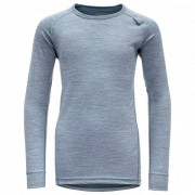 Devold - Breeze Junior Shirt - Sous-vêtement mérinos taille 12 Years, gris