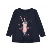 NAME IT Mini Loose Fit Long Sleeved Blouse Navy