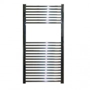 Designradiator Aloni 120x60cm 550 Watt Glans Chroom Zijaansluiting