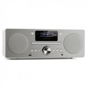 Auna Harvard equipo de música DAB/DAB+ radio FM reproductor de CD cargador USB blanco