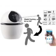 7links WLAN-IP-Überwachungskamera mit Objekt-Tracking & App, Full HD, 360°