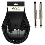 Cablu instrument Alpha Audio Mono Jack 6.3 - Jack 6.3 3M