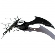 Lampara Batarang 3D Deco Light Batman Mask Super Heroe