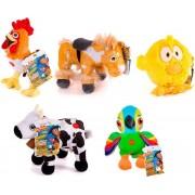 The Zenon Farm assorted plush toy animals