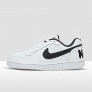 NIKE Court borough low sneakers wit/zwart kinderen