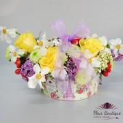 Cutie flori Gingasia narciselor CTF007