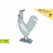 Pasqua allegra decorazione gallina 26 cm 602345 617
