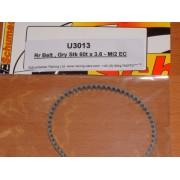 Schumacher U3013 Mi5 Mi4 Grey Rear Belt 60T