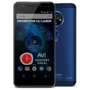 "Smartphone Allview X4 Soul Vision, Procesor Octa-core, 1.5GHz, IPS LCD Capacitive touchscreen 5.5"", 3GB RAM, 32GB FLASH, Camera 13MP, Wi-Fi, 4G, Dual Sim, Android (Albastru) + Cartela SIM Orange PrePay, 6 euro credit, 6 GB internet 4G, 2,000 minute nation"