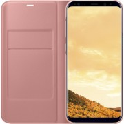 Samsung LED view cover - roze - voor Samsung G955 Galaxy S8 Plus