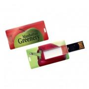 Memorias USB publicitarias mini card