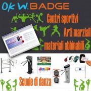 OK W. Badge - Gestione Palestre e Centri Sportivi