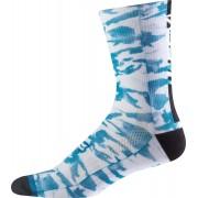 Fox Creo Trail 8 Calcetines Blanco Azul S M