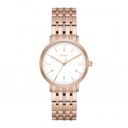 Часовник DKNY - Minetta NY2504 Rose Gold/Rose Gold