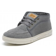 Natural World Bota Safari Suede Ribeteado 822 Gris
