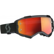 Scott Fury black Motocross Goggles - Size: One Size