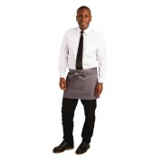 Whites Chefs Clothing Whites korte sloof grijs