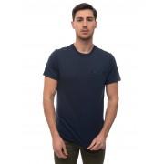 Barbour T-shirt girocollo mezza manica BATEE0407 Blu Cotone Uomo