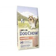 Hrana uscata pentru caini Dog Chow Sensitive cu somon 14 kg