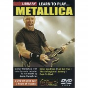 Roadrock International Lick Library: Learn To Play Metallica DVD