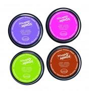 Set creativ Stampo Colors, 4 tusiere - Festival