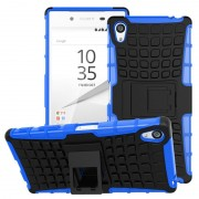 Capa Híbrida Anti-Deslizante para Sony Xperia Z5 Premium, Xperia Z5 Premium Dual - Preto / Azul