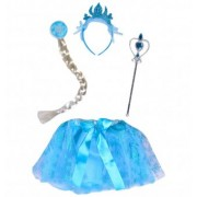 Set costum fetite model Elsa, 3-5 ani