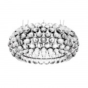 Lámpara italica-c-tr colgante de diseño acrilica transparente casa d