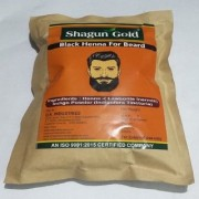 Beard black color cover your Gray Mustache For Men 400gm