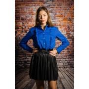 Camasa femei office Dahlia blue