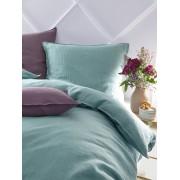 Proflax Dekbedovertrek, ca. 135x200cm Proflax turquoise