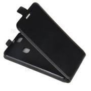 Capa preta tipo agenda para Huawei Y5II