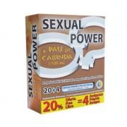 Ampolas Sexual Power + Pau de Cabinda (Unisexo) (20 + 4 Un)