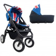 easywalker Mini Duo Stroller Union Jack Easywalker 0m+