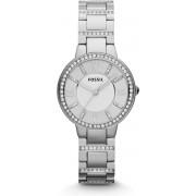 Fossil Virginia ES3282 - Horloge - 26 mm - Staal - Zilverkleurig