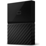 WD 1 TB Wired External Hard Disk Drive(Black)