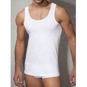 Doreanse Классическая мужская майка белого цвета Doreanse Cotton Collection 2025c02