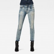 G-Star RAW Dames 3301 Mid Skinny RP Ankle Jeans Blauw - Dames - Blauw - Grootte: 30-32 30-30 29-32 29-30 28-34 28-32 28-30 27-32 27-30 26-32 26-30 25-32 25-30 24-32 24-30 34-34 33-34 32-32 31-34 31-32 30-34 34-32 33-32 29-34 27-34 27-28 25-34