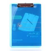 Herlitz Clipboard A4 1 buc Albastru transp. EOTG Simplu