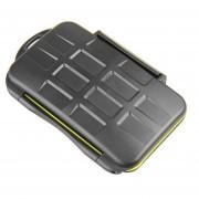 JJC MC-SDMSD24 Water-Resistant Holder Storage Memory -Negro