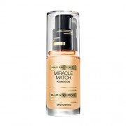 Max Factor Miracle Match Foundation 77 Soft Honey 30ml