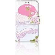 Samsung Galaxy Xcover 4 Boekhoesje Design Bird Standing