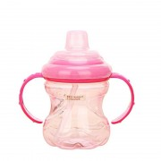 High Quality 260ml Cute Baby Kids Spill-proof Sippy Cup Children Learning Feeding Drinking Water With Straw Dual Handles Bottle
