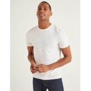 Boden Weiß Vorgewaschenes T-Shirt Herren Boden, XXL, White