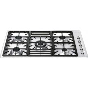 Smeg Classic PGF95-4 5 Burner Gas Hob - Stainless Steel