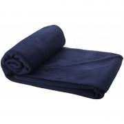 Fleece deken navy blauw 150 x 120 cm