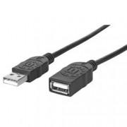 Manhattan Cavo Prolunga USB 2.0 Hi-Speed 3 metri