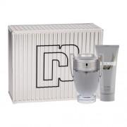 Paco Rabanne Invictus подаръчен комплект EDT 100 ml + душ гел 100 ml за мъже