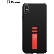 Funda Celular Case Baseus Silicona Tail Cordon Correa Iphone XS X